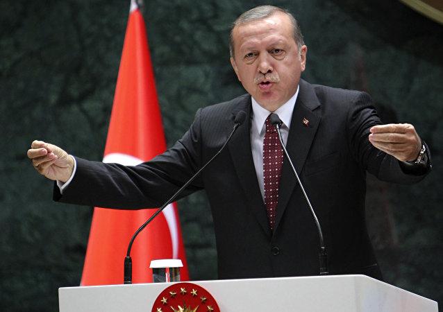 Presidente turco Recep Tayyip Erdogan em foto de 10 de maio de 2016