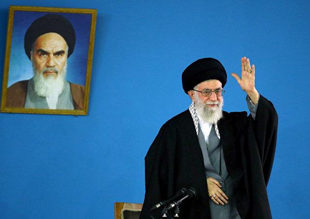 Líder Supremo do Irã Aiatolá Ali Khamenei