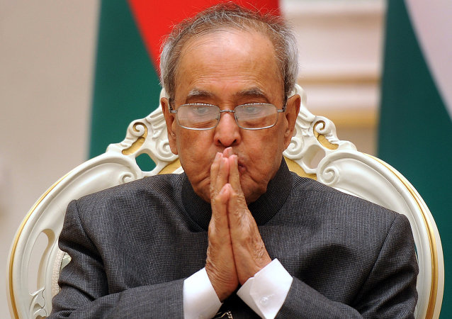 Pranab Mukherjee, presidente da Índia