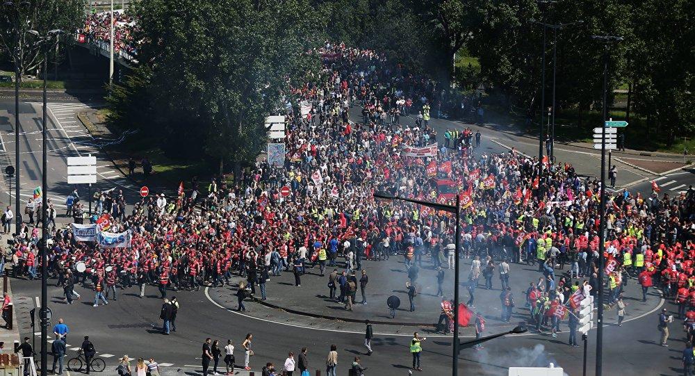 Protestos na França, 26 de maio, 2016