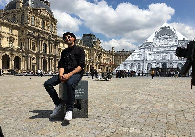 Louvre sem pirâmide