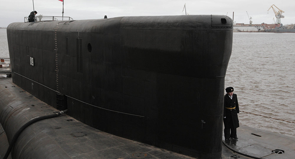 Submarino nuclear russo