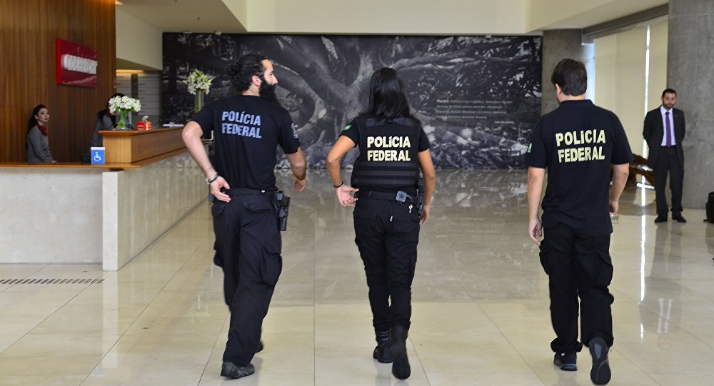 Polícia Federal chega a construtora Odebrecht na 23ª fase da Operação Lava Jato.