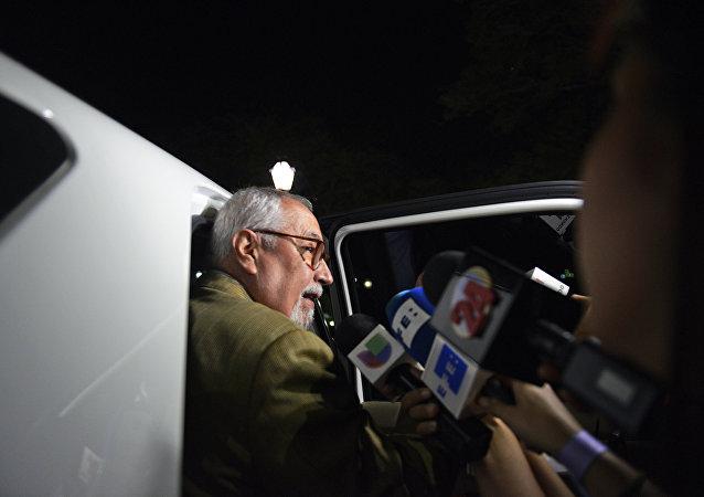 Ramon Guillermo Aveledo, líder de oposição na Venezuela