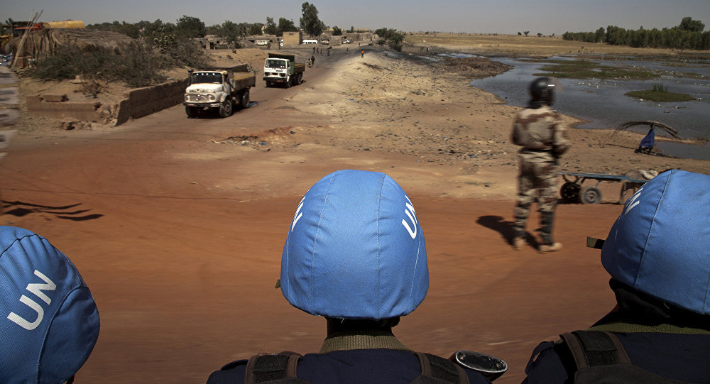 Soldados de manutenção da paz da ONU no Mali (arquivo)