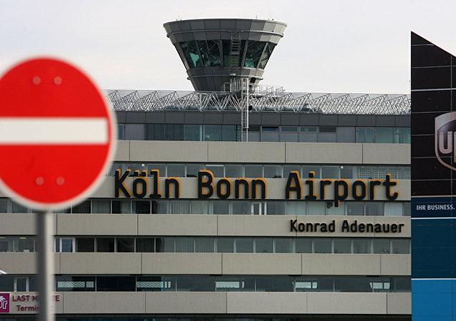 O aeroporto alemão de Colônia-Bonn
