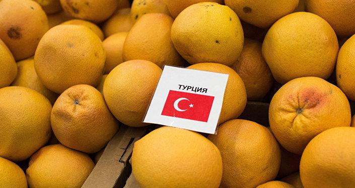 Rússia adota sanções contra produtos turcos