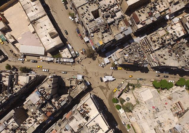 Cidade de Aleppo, na Síria