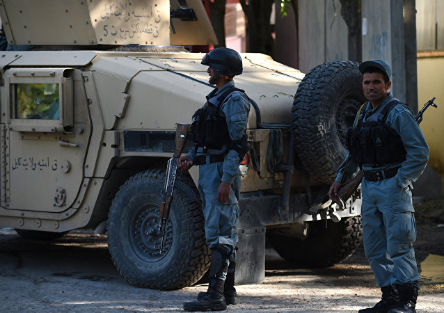 Polícia do Afeganistão (arquivo)