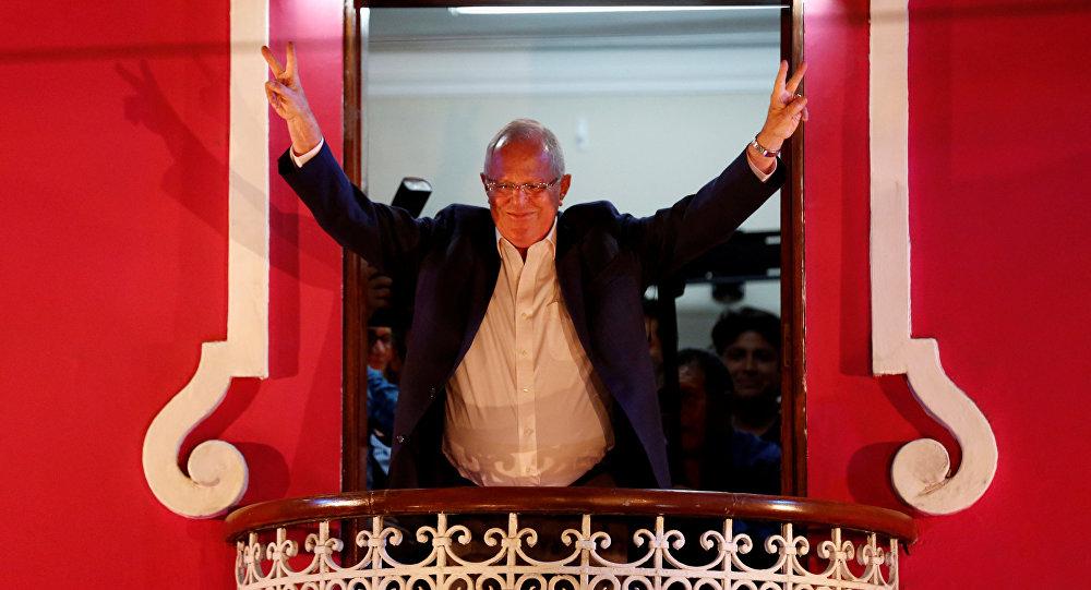 Pedro Pablo Kuczynski (PPK)-candidato à presidência do Peru nas eleições de 2016
