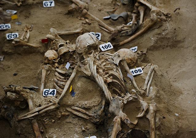 Escavação Arqueologia (imagem referencial)