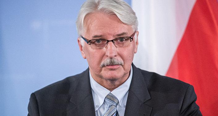 Witold Waszczykowski, o ministro das Relações Exteriores da Polônia (arquivo)