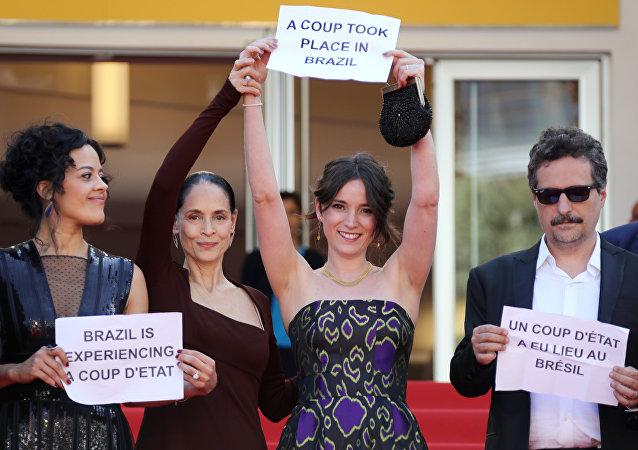Cannes protesto