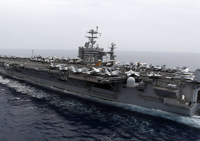 Porta-aviões USS Nimitz Harry S. Truman