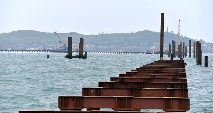 Construção da Ponte de Kerch na Criméia