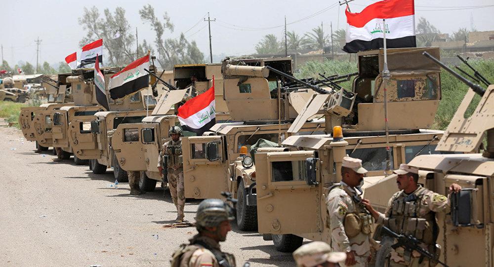 Veículos militares das Forças Armadas do Iraque