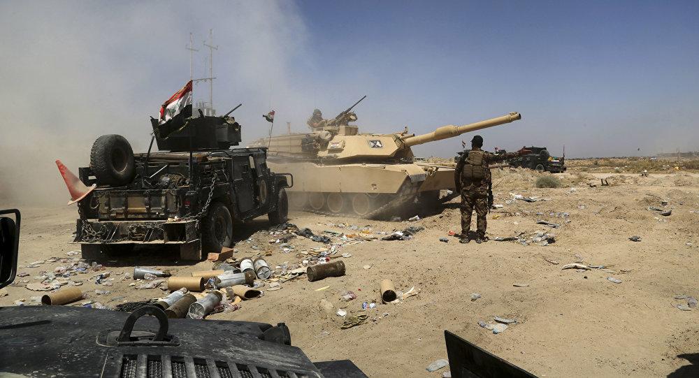 Forças armadas iraquianas se preparam para ofensiva em Falluja (Iraque) com o alvo de retomar a cidade dos terroristas do Daesh em 3 de junho, 2016