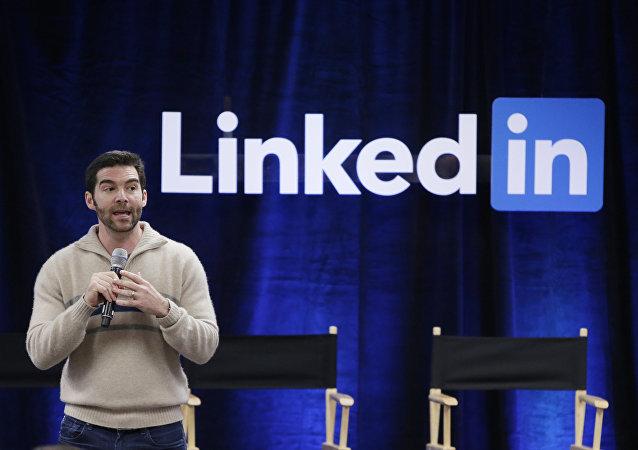 CEO de LinkedIn Jeff Weiner (Foto de arquivo)