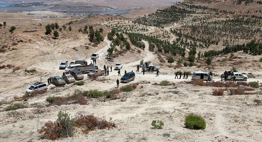 Forças Democráticas da Síria na região de Manbij