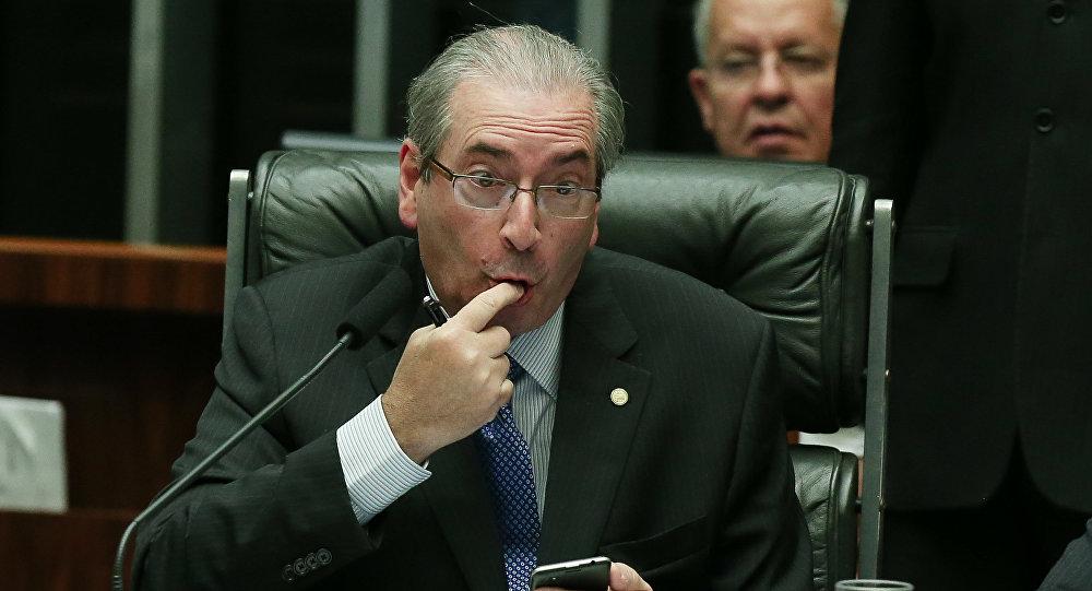 Deputado cassado Eduardo Cunha (PMDB-RJ)