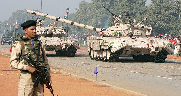 Parada militar em Nova Deli