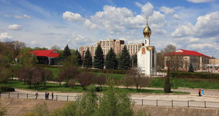 Tiraspol, a capital da Transnístria