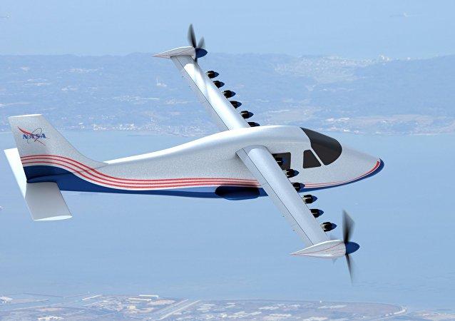 Avião elétrico X-57 (Maxwell)