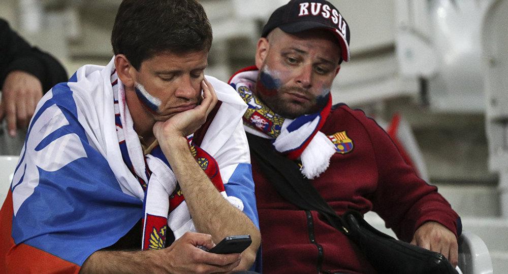 Torcedores russos na Euro 2016