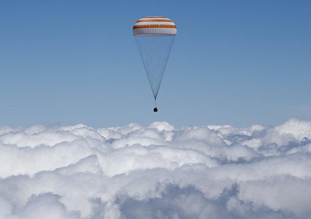 Aterrissagem de Soyuz TMA-19M, 18 de junho 2016