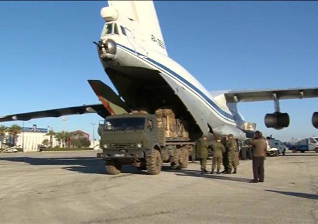 Ajuda humanitária em Deir ez-Zor