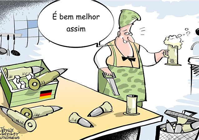 Os soldados alemães não confiam em armas que usam