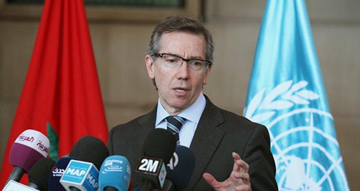 Bernardino Leon, representante especial da ONU para a Líbia