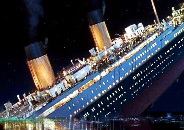 O Titanic do filme de James Cameron