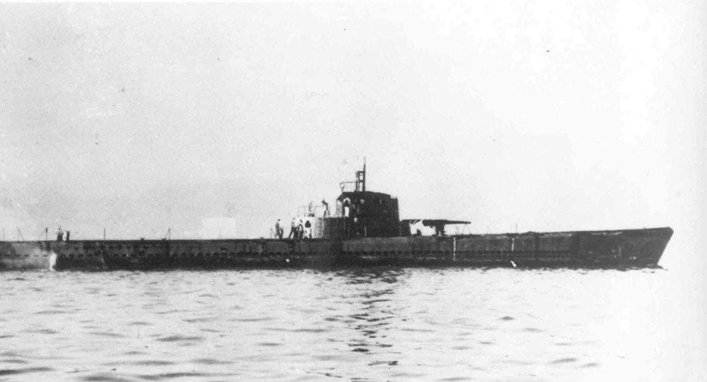 Submarino americano da Segunda Guerra Mundial USS Herring (SS-233)