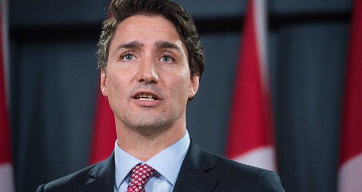 Primeiro-ministro canadense, Justin Trudeau (arquivo)