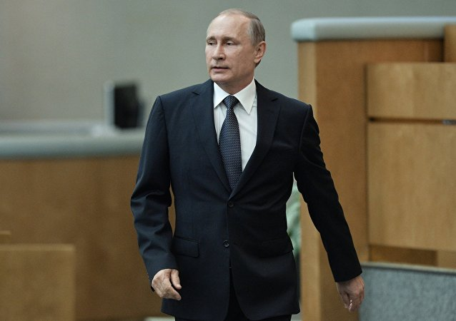 Em 22 de junho de 2016, o presidente russo Vladimir Putin participou da sessão plenária da Duma de Estado da Federação da Rússia