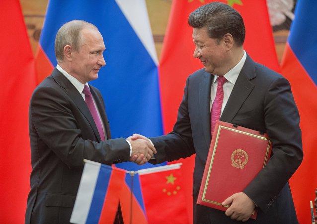 Visita oficial do presidente russo à China, 25 de junho de 2016
