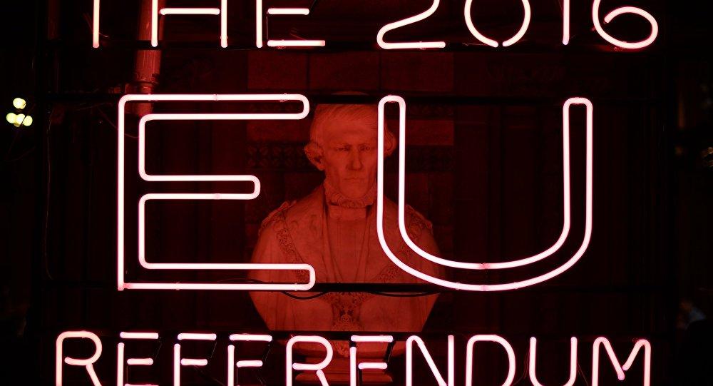 O referendo do Reino Unido sobre a saída da UE