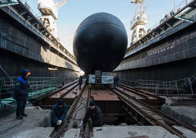 Veliky Novgorod, o submarino de motores diesel de quarta geração do projeto 636