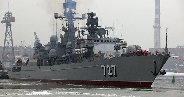 Navio-patrulha russo Yaroslav Mudri