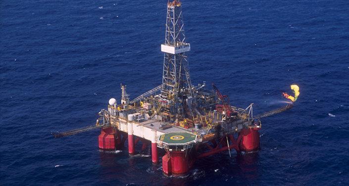 Plataforma da Petrobras (imagen referencial)