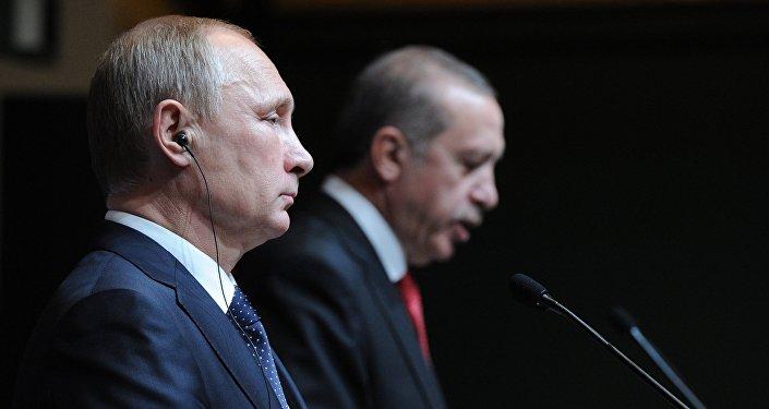 Vladimir Putin e Recep Tayyip Erdogan, dezembro 2014