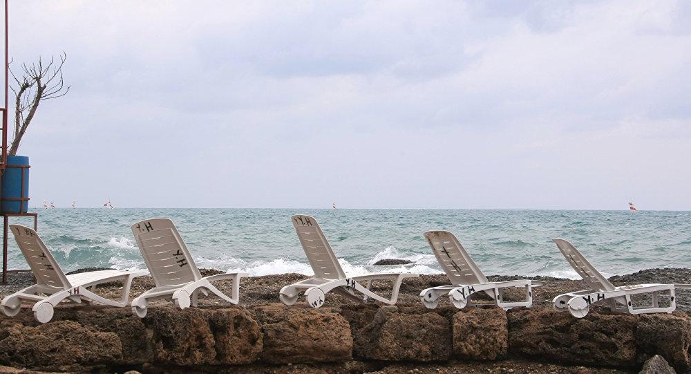 Praia na Turquia