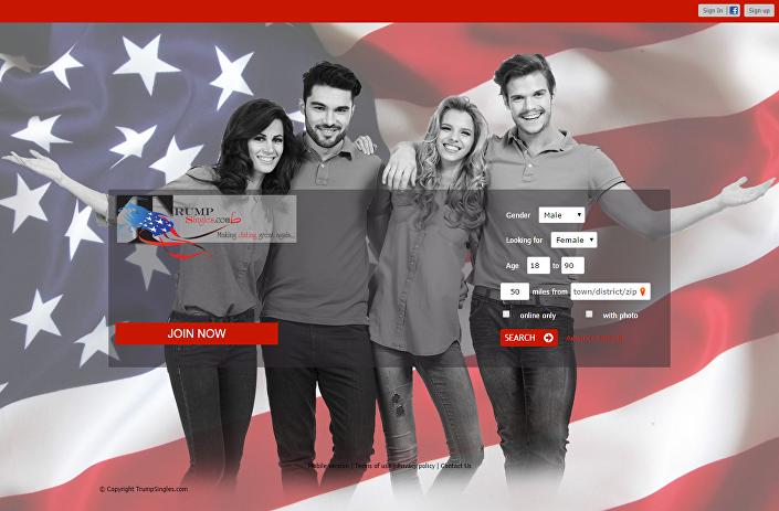 site TrumpSingles.com