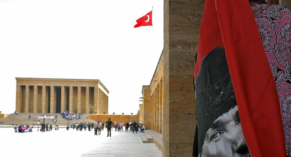 Mausoléu de Ataturk, Ankara, Turquia