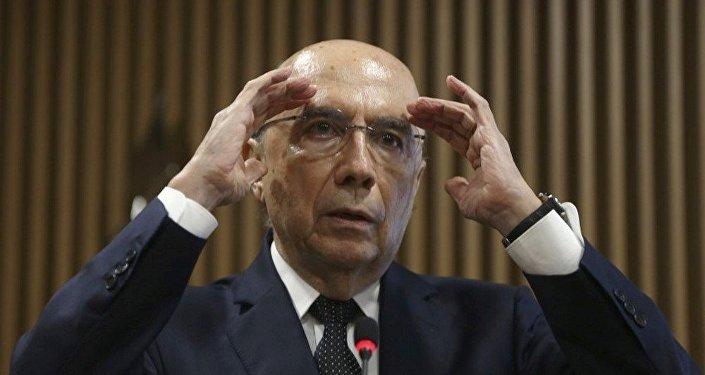 Ex-ministro e candidato à presidência Henrique Meirelles