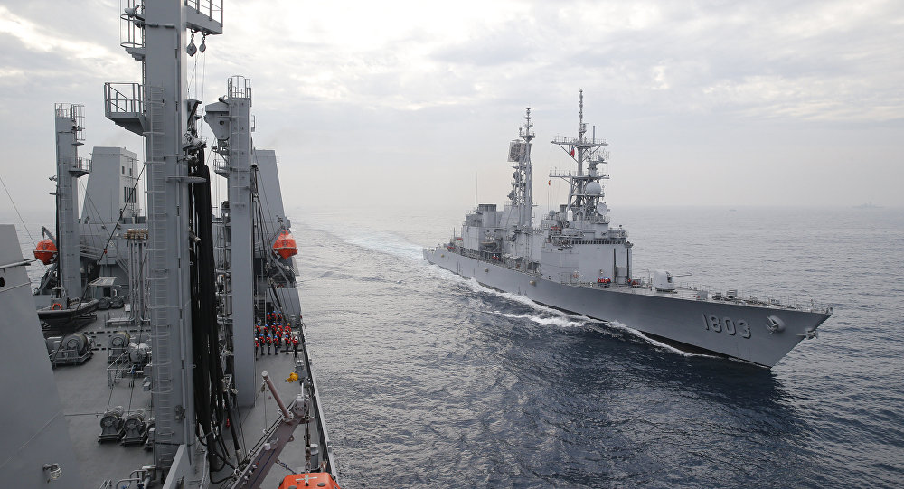 Navios militares de Taiwan (arquivo)