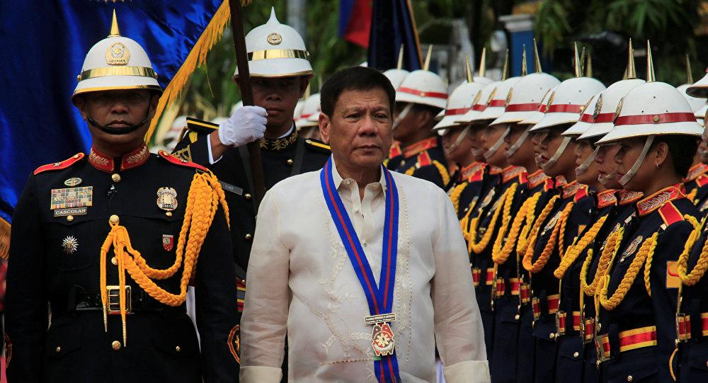 Resultado de imagem para presidente da filipinas