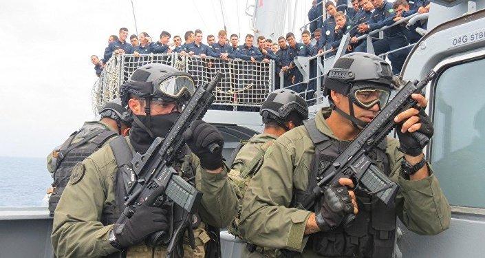 Fuzileiros Navais da Marinha Brasileira vão reforçar a segurança nos Jogos Rio 2016.