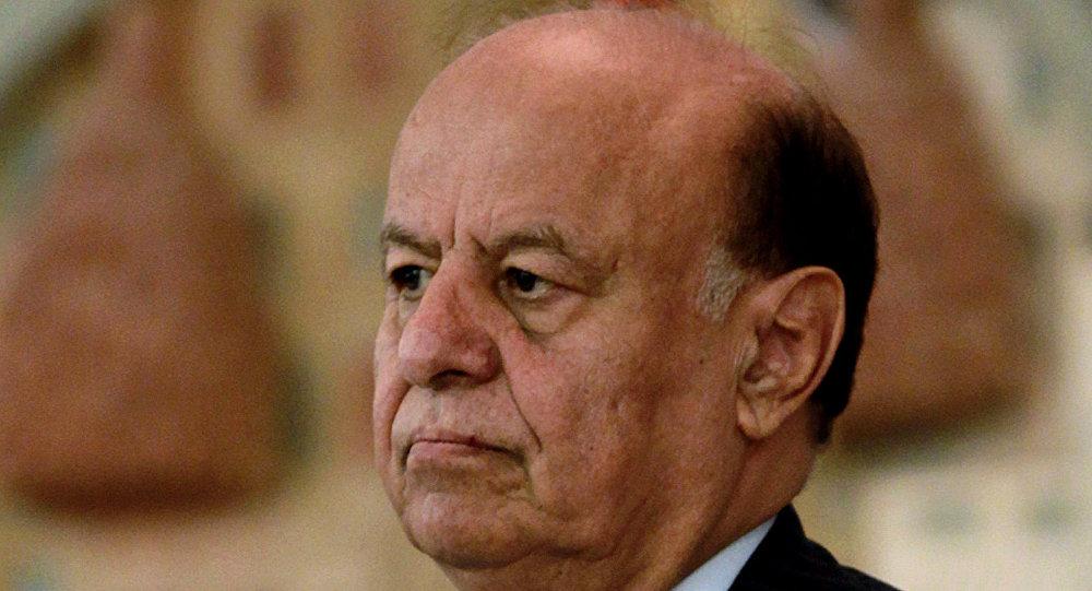 Abd Rabbo Mansour Hadi em fevereiro de 2013